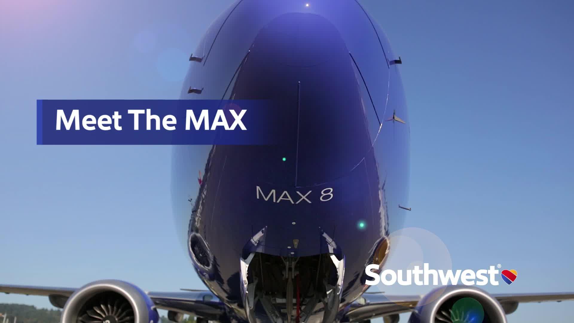 737 MAX 8 B Roll